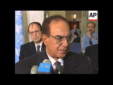 USA: UN AND IRAQ TALKS