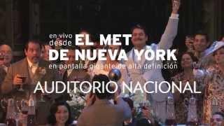 Temporada 2015-2016 del MET Opera en el Auditorio Nacional.