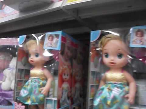 Checking Out The Baby Alive Dolls At Walmart On Black