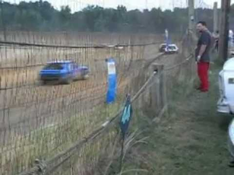 Mini Stock Race at Beebe Speedway 5/25/12 part 1