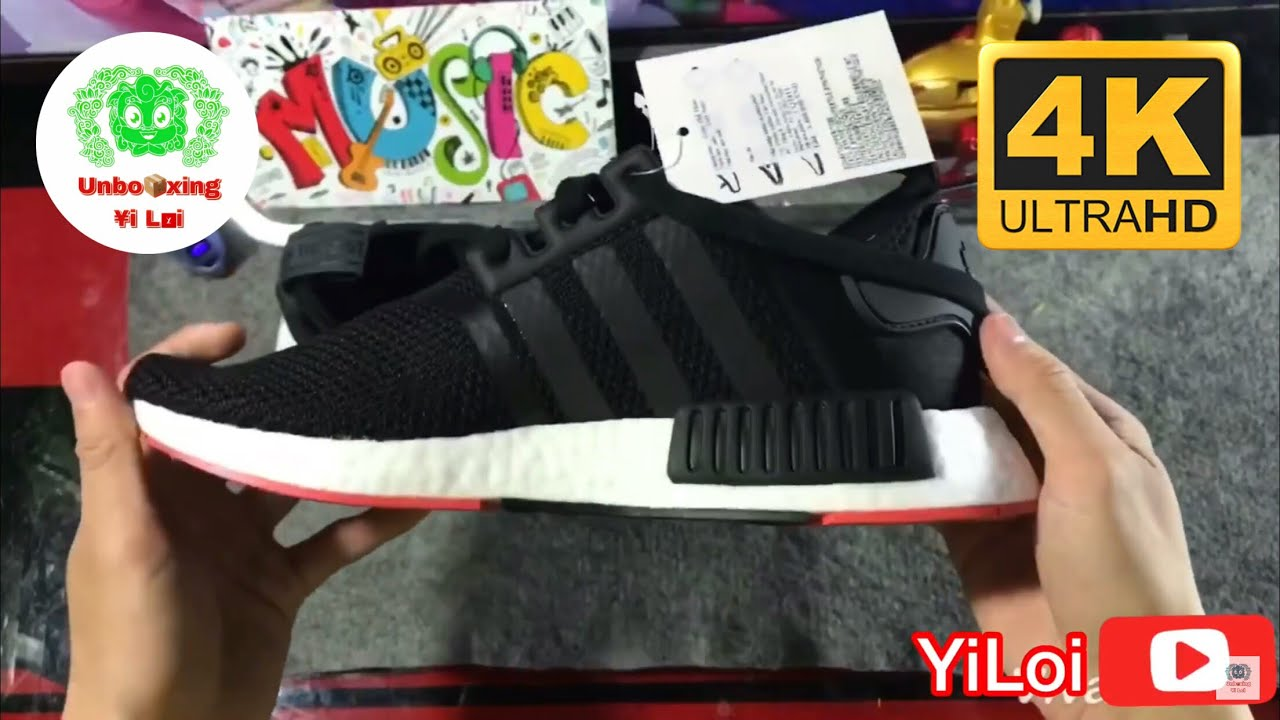e8cefa6cb Mở hộp Adidas NMD R1 unboxing