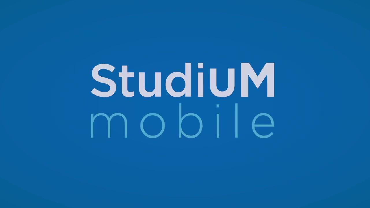 StudiUM UdeM - Nouveautés StudiUM mobile 3.7