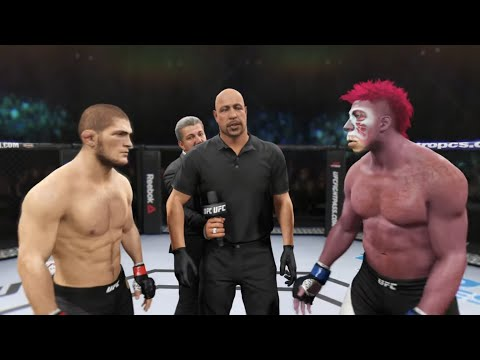 Khabib vs. Purple Freak (EA Sports UFC 2)