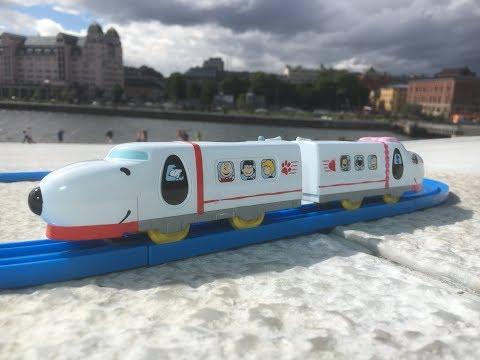 Plarail Peanut Dream Railway Snoopy Express visita em Oslo Opera House Bjørvika Oslo Norway 02495 pt