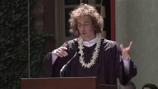 Kyle Berlin '18 delivers Princeton's Valedictory address