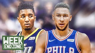 Donovan Mitchell vs Ben Simmons: Who Will Win Rookie Of The Year? | Weekend Zone