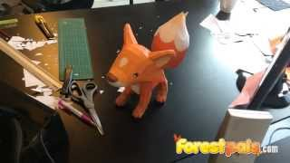 Papercraft Fox Forestpals