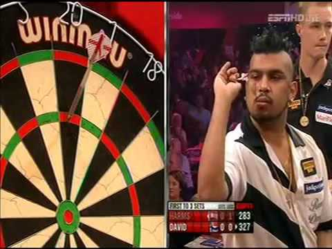 Darts World Championship 2013 Round 1  Wesley Harms vs Rohit David