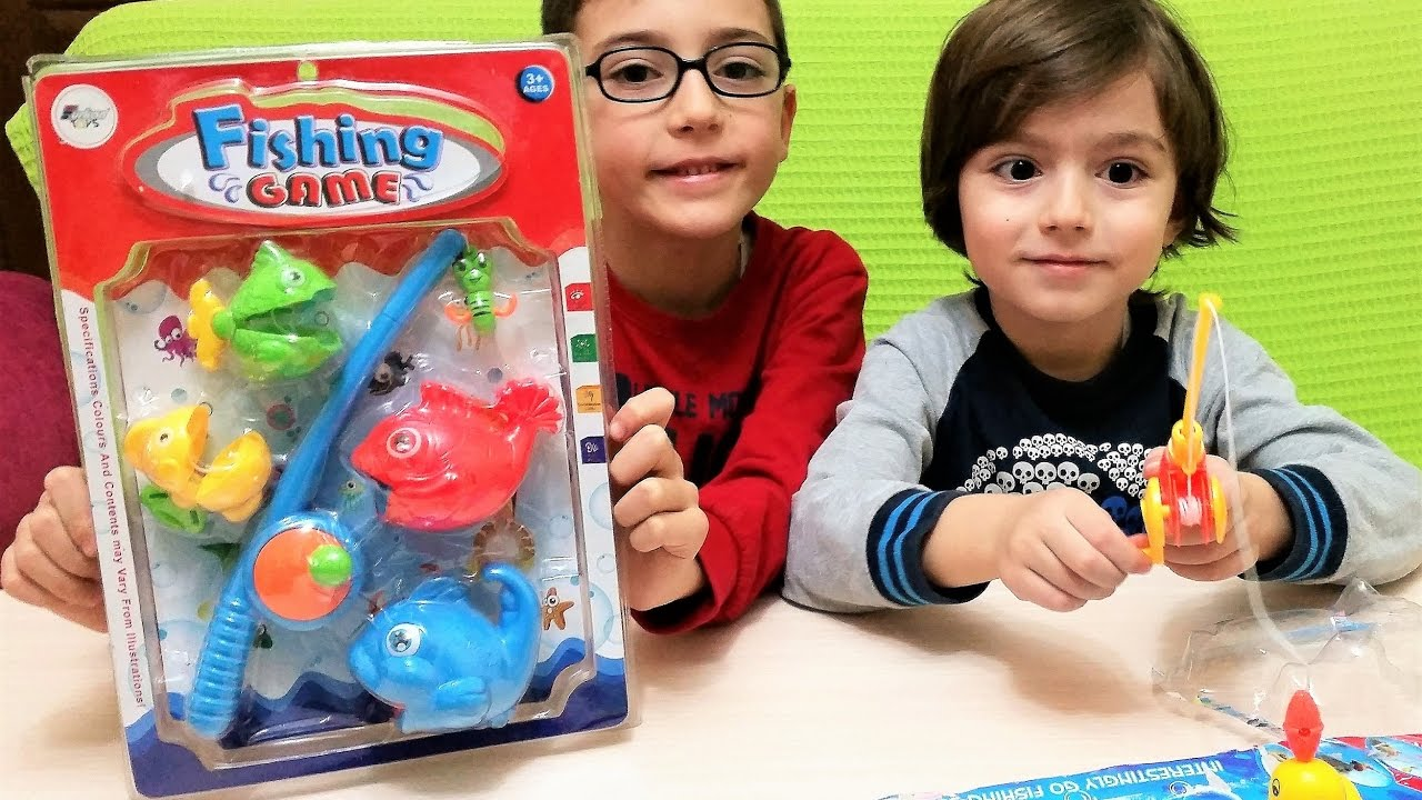 Toy fish games and duck catching game and for kids for Fish catching games