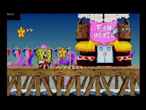 Spongebob Squarepants SuperSponge Walkthrough Part 5 Industrial