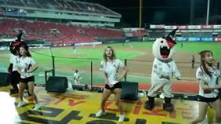 170830 7회말 응원, kt위즈 vs NC