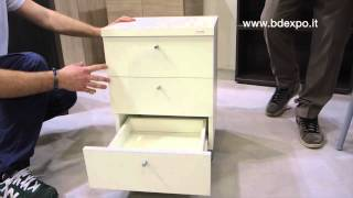 Bd Expo Srl - Lucky Chest Of Drawers With Wheels