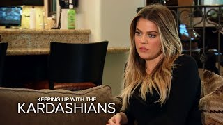 Khloe Struggles to Pull the Plug | Keeping Up With the Kardashians | E!