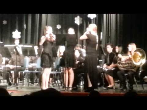 Lake Norman High School Band Winter Concert - Flute Trio Solo