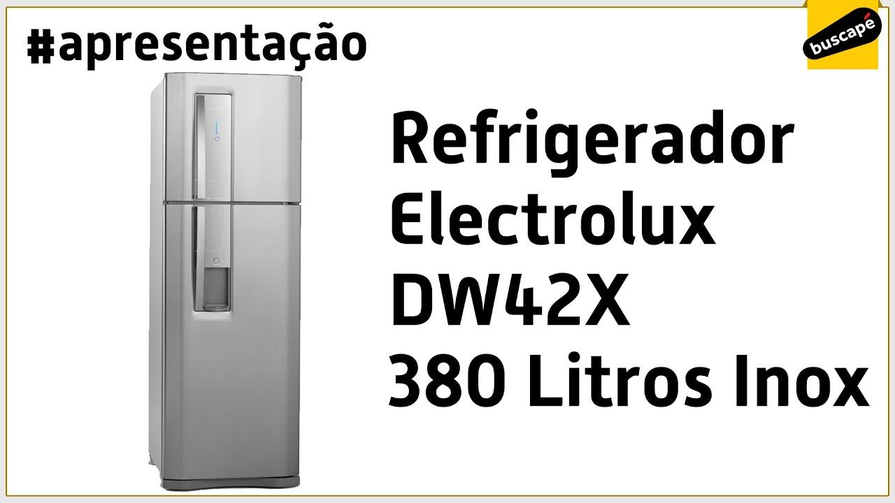 de636ae40 Refrigerador Electrolux DW42X 380 Litros Inox - Apresentação - YouTube