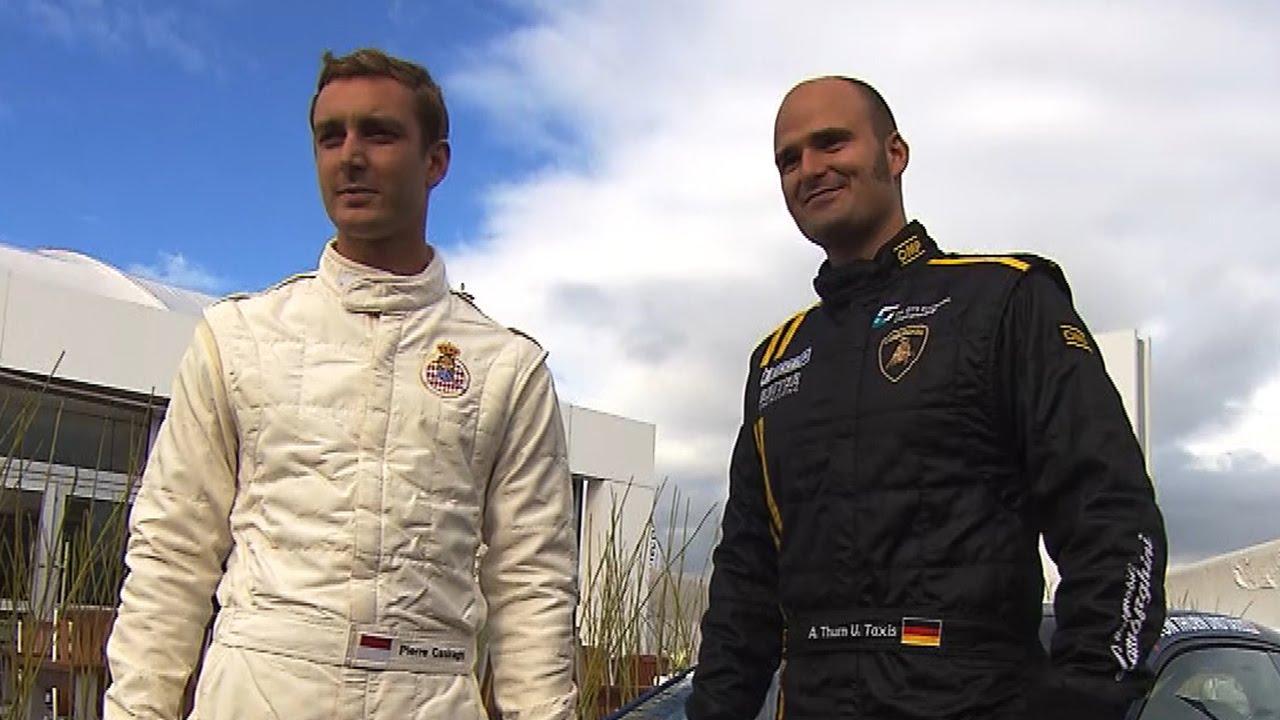 Albert von Thurn und Taxis und Pierre Casiraghi beim Scirocco R Cup am ...