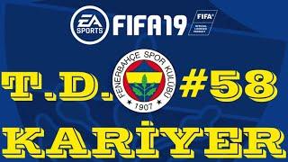 BU MAÇ ZORLADI ! FIFA 19 KARİYER MODU #58