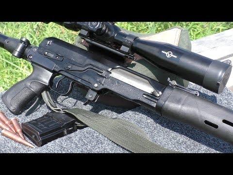 СВД(ТИГР) на 300 метрах стреляет пуля в пулю!!!
