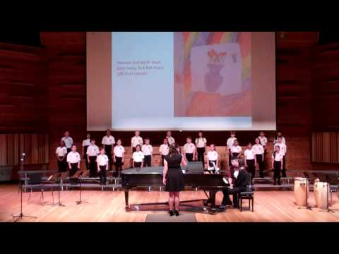"""Music Alone Shall Live"" - Rutgers Children's Choir - May 11, 2014"