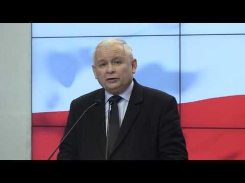 Jarosław Kaczyński - Oświadczenie dla mediów Prezesa PiS