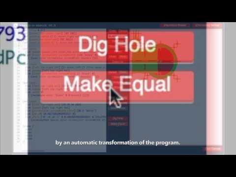 Semi-Automated SVG Programming via Direct Manipulation