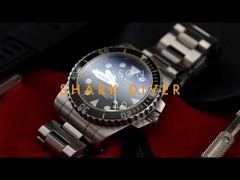 Helson Shark Diver 40 Review - Excellent Tool Diver