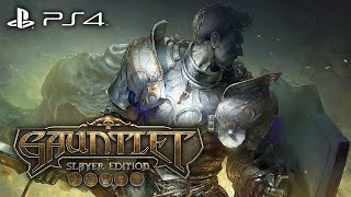 GAUNTLET: SLAYER EDITION Gameplay Walkthrough Part 1 - MERLIN & CONAN [1080p HD PS4]