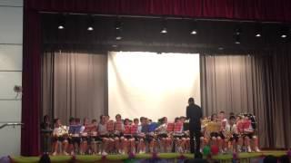 嗇色園主辦可銘學校管樂團表演