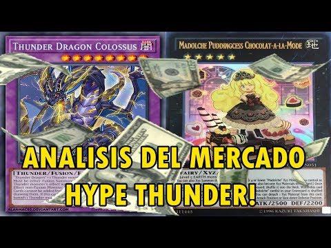 Yu-Gi-Oh! Análisis Del Mercado ¡Hype Thunder Dragon! Mas Short Prints para Variar - TeamSetoX