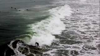 Huntington Beach Surfing Video