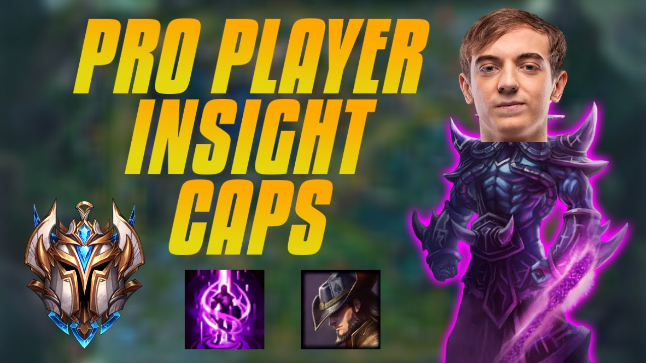 PRO PLAYER INSIGHT Ep.3 - Caps Mid Lane Kassadin - Playing From Behind - VOD Review
