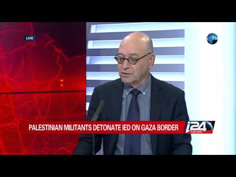 12/16: Palestinian militants detonate IED on Gaza border