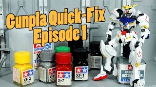 558 - Gunpla Quick-Fix Ep.1: Detail Painting HG Gundam Barbatos