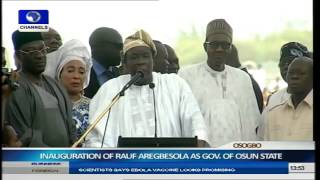 Inauguration Of Rauf Aregbesola As Governor Of Osun State Part 11