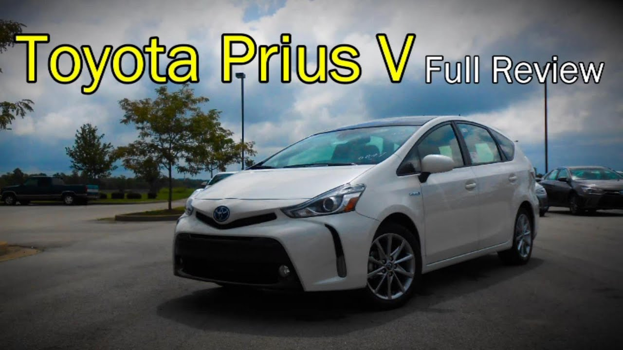 IIHS - 2015 Toyota Prius v - small overlap crash test / GOOD .