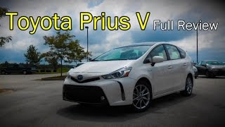 2017 Toyota Prius V: Full Review | Two, Three, Four & Five