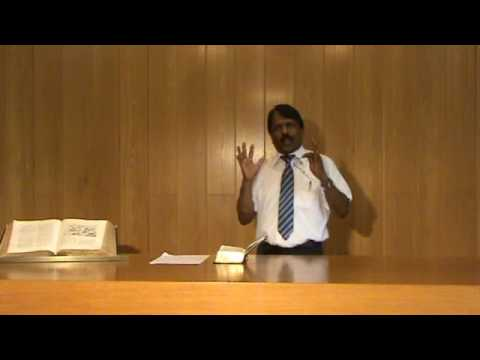 "Tamil Christian Message "" Body Soul Spirit "" part 1 by Pr. Samuel Paul"