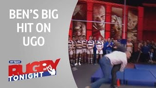 Ben's big hit on Ugo! | Rugby Tonight