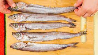 Беру самую ДЕШЁВУЮ рыбу Все хозяйки помнят этот рецепт из СССР