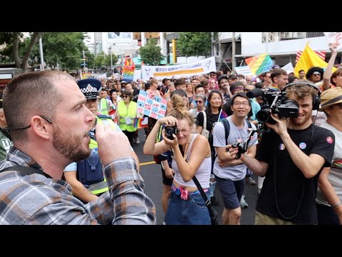 2020 Auckland Gay Pride. Protesting A Celebration Of Sin   Phillip Blair