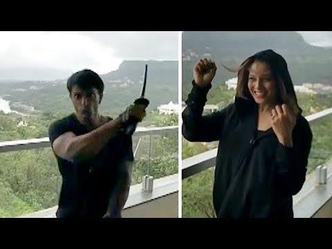 Bipasha Basu Karan Singh Grover HOTEL DRAMA VIDEO!
