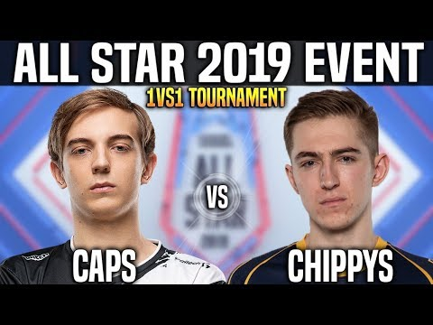 Caps vs Chippys - Caps Heimerdinger vs Chippys Poppy - 1vs1 Tournament LOL All Star 2019 Day 1