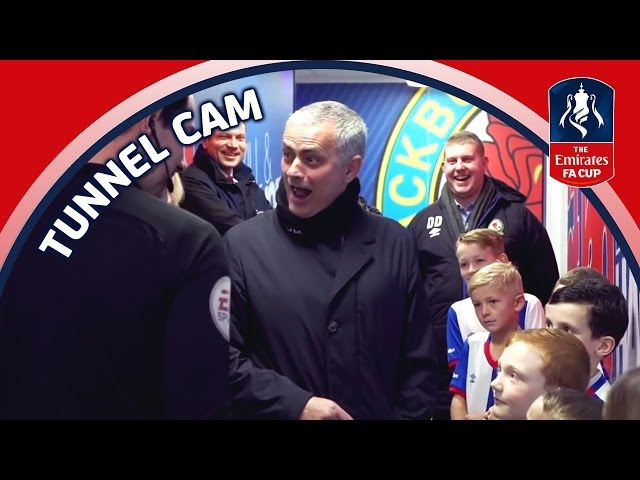 Tunnel Cam - Blackburn Rovers v Manchester United (Emirates FA Cup 2016/17) R5   Inside Access