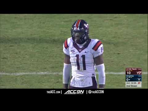 Virginia Tech Hokies vs  Virginia Cavaliers   Condensed Game
