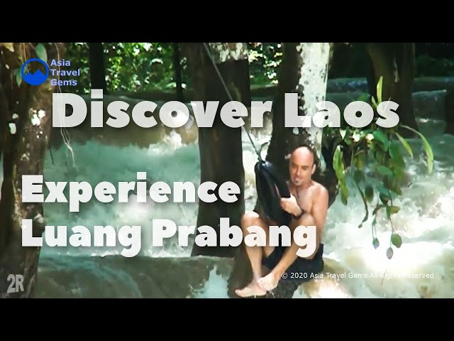 Discover Laos - Experience Luang Prabang - Temples, Street Food and the famous Kuang Si Waterfall