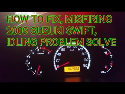 HOW TO FIX 2009 Suzuki swift, Misfiring, Idling problem.