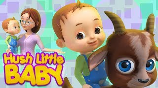 Hush Little Baby And More Baby Ronnie Rhymes | Lullaby For Babies | Videogyan 3D Rhymes | Kids Songs