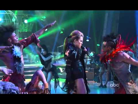 Miley Cyrus Can´t Be Tamed Live Dancing With The Stars  en vivo