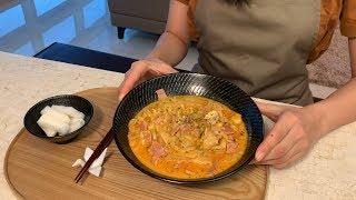 라면 맛있게 끓이는 법 (까르보불닭, 열라면, 안성탕면, 짜파게티)