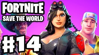Fortnite: Save the World - Gameplay Walkthrough Part 14 - Front End Improvements Update! (PC)